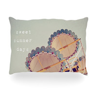 "Susannah Tucker ""Sweet Summer Days"" Carnival Oblong Pillow"