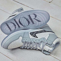 Dior Low Hot Sale Men's and Women's Basketball Shoes Sneakers