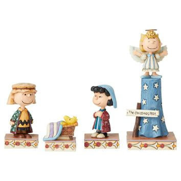 Peanuts by Jim Shore Christmas Pageant Set #1 - 6004972