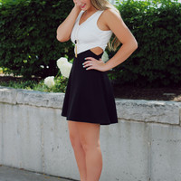Black & White Affair Dress