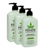 Hempz Triple Moisture Herbal Whipped Body Creme (Pack of 3) - New