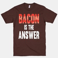 Bacon is the Answer | HUMAN