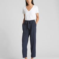 Drapey Ankle Pants | Gap
