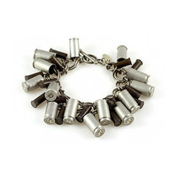 BULLET CASING BANGLE   Shannon Astali DeJong, Recycled, Jewelry, Brass, Gun, Provocative, Statement Piece   UncommonGoods