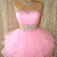 Pageant Evening Formal Ball Gown Prom  Dress from Cute Dress