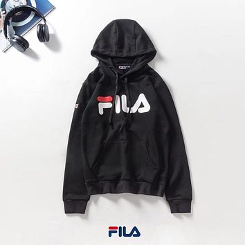 FILA Woman Men Top Pullover Sweatshirt Hoodie