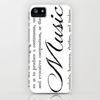 Music iPhone Case by Jo Bekah Photography & Design