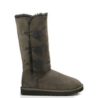 UGG Australia Women's Bailey Button Triplet | Chocolate | SALE