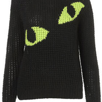 **Eyes Handknit Sweater by J.W. Anderson for Topshop - J.W. Anderson  - Designers