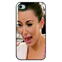 Brand New 2014 Girl Kim Kardashian Crying Hard Plastic Mobile Phone Shell Case Cover For Iphone 4 4S 5 5S 5C 6 6 Plus