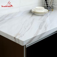 Modern Marble Vinyl Self Adhesive Wallpaper for Bathroom Kitchen Cupboard Table Wall Contact Paper PVC Waterproof Wall Stickers