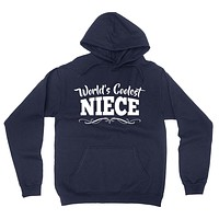 World's coolest niece the best nice birthday gift ideas for her number one niece hoodie