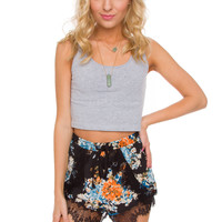 Connie Floral Shorts