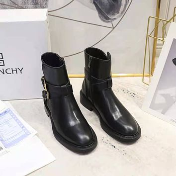 GIVENCHY2021 Men Fashion Boots fashionable Casual leather Breathable Sneakers Running Shoes09050wk