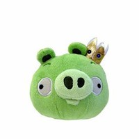 Angry Birds 5 Inch MINI Plush With Sound King Pig