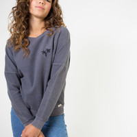 Valencia Palm Tree Fleecy Sweatshirt
