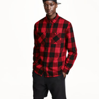 H&M Plaid Flannel Shirt $24.99
