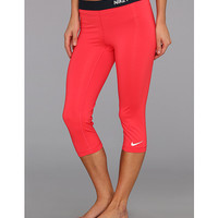 Nike Pro Core II Compression Capri CarbonHeather/Black - Zappos.com Free Shipping BOTH Ways