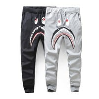 sweatpants pants Bape Shark