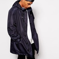 ASOS Parka In Oversized Fit at asos.com