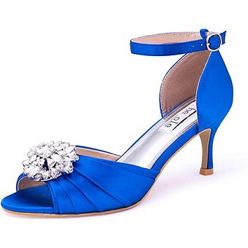 Women's Low Heel Wedding Sandals