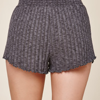 Me To We Cozy Ribbed Soft Shorts at PacSun.com
