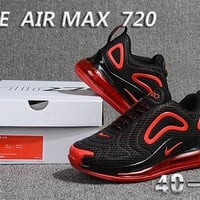 Nike AIR Max 720  running shoe  Men's sneaker Shoes black/red