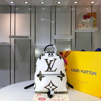 LV Louis Vuitton WOMEN'S MONOGRAM M41560 CANVAS BACKPACK BAG