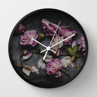 In the silence  Wall Clock by Hello Twiggs