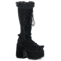 Demonia Camel-311 Platform Boot Black