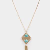 Tribal Gold Necklace