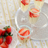 Pastel cocktail sugar rimmers - pastel colored sugars for wedding champagne flutes