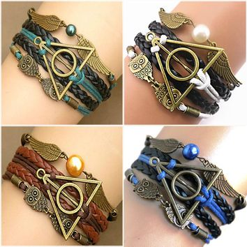 Harry potter Multilayer Braided Bracelets