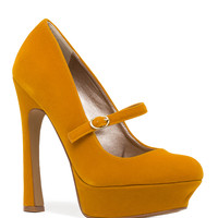 Tweet Goes The Canary Pumps