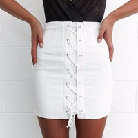 Pencil Skirt High Wasted
