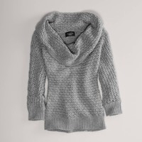 AE Knit Cowl Sweater   American Eagle Outfitters