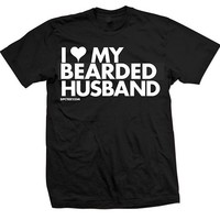 I Heart My Tattooed Husband Tee by Dpcted Apparel (Black)