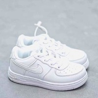 HCXX 19Aug 846 Nike Air Force 1 Kid Low Sneaker Casual Fashion Skateborad Shoes