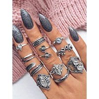 Wrap Ring Set 11pcs