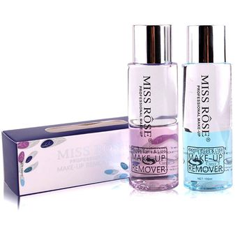 Miss Rose 100ml Makeup Remover Clean Oil Rose Essence Cleansing Oil Makeup Remover Natural Mild Clean for Face Make up