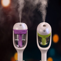 New Mini 12V Car Steam Humidifier Air Purifier Aroma Diffuser Essential oil diffuser Aromatherapy Mist Maker Fogger Purple Green