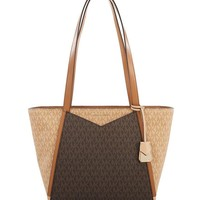 MICHAEL MICHAEL KORS Whitney Small Logo Tote