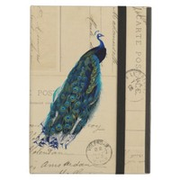 Peacock Vintage French Postcards Case