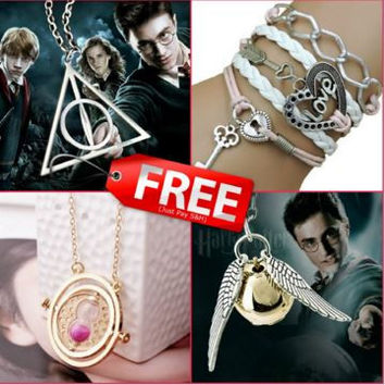 FREE 4 Piece Harry Potter Ultimate Fan Bundle! Just Pay Shipping!