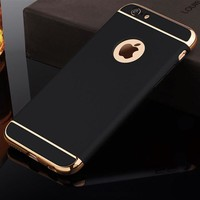 Luxury Ultra Thin Shockproof Cover Coque Case for iPhone 7 6 6 plus 6s 7 Plus case Coverage Phone Cases For i7 i6 Plus i5 i6s
