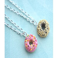 Scented Donut Necklace
