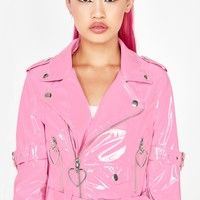 Mad Sass Patent Jacket