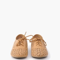 Cut-Out Oxford Flat