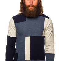 Scotch and Soda 40394 Home Alone Patchworked Sweater