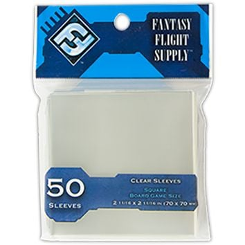 Square Board Game Sleeves  (FFG Blue - 50)